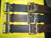 Ремень офицерский кожаный