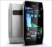 Nokia X7 3.8 черный,  белый