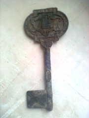 ключ от петропавловской крепости 1703 года