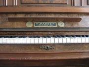 Старинное немецное пианино H.Hansen Berlin Gegrunden 1870