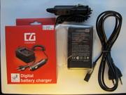 Зарядка для фотоаппарата(авто+сеть)от100гр