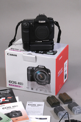 Canon 40D body + battery grip + 4 accu