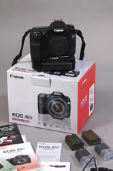 Canon 40D body + battery grip + 4 accu