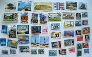 почтовые марки архитектура