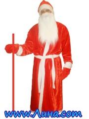 Костюм Деда Мороза и Снегурочки напрокат 063-104-90-20 www.Лина.com