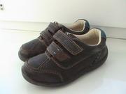 Туфли-кроссовки Clarks, р.5.5F, кожа