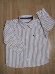 Рубашка L.O.G.G. by H&M, р.80-86, хлопок
