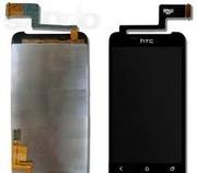 Дисплей (экран) для HTC T328w Desire V,  чёрный,  с тачскрином