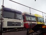 Разборка грузовых автомобилей европейского производства.