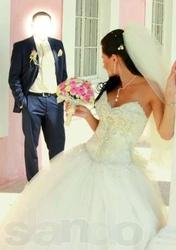 свадебное платье для принцессы. ексклюзив!