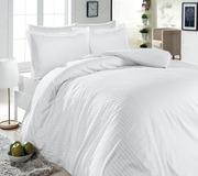 Купить постельное белье,  комплект двуспальный «Белый стиль»