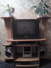 Б.у мебель тумба для телевизора