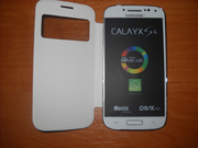 Samsung S4 4, 7 black white (2 sim,  tv,  java)