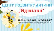 Центр розвитку дитини  Бджілка проводить набір дітей за такими напрямками