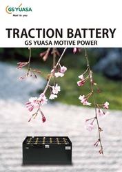 Тяговые батареи к электрокарам YUASA (Япония)