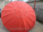 Круглый зонт с напылением