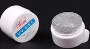 Lina УФ-гель,  UV-gel,  для наращивания,  белый -15мл