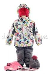 шикарный зимний термо комплект DEUX PAR DEUX на девочку