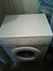 Стиральная машина LG,  5 кг,  бу
