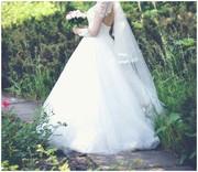 Продам!!Свадебное платье одето один раз!