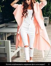 Кашемировое пальто без подкладки