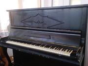антикварное пианино Uebel-lechleiter
