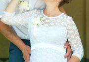 Продам свадебное платье для беременных