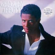 Фирменная виниловая пластинка Gregory Abbott