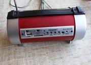 Портативная акустика GF-912RU FM,  Фонарик,  USB