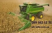 уборка кукурузы на силос сенаж подбор валков Запорожье