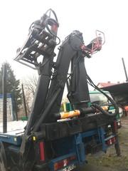 Кран манипулятор лесной Essel 80