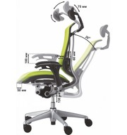 Кресла люкс для руководителя. Кресло OKAMURA CONTESSA