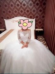 Продам свадебное платье недорого