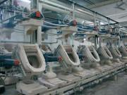 Оборудование для производства керамических санитарно-технических издел