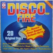 LP Сборник - Disco Fire - K-Tel - TG 1169