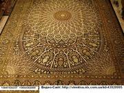 Шелковые  персидские  ковры  ручной  работы